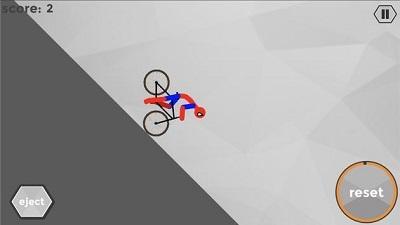 火柴人骑自行车截图
