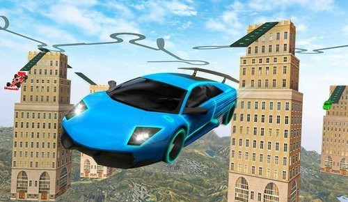 Electric Car Ramp Stunt 2020截图