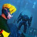超级英雄战争机器人变形
