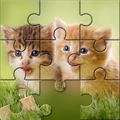 猫谜题拼图