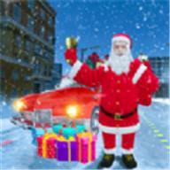 圣诞老人汽车驾驶3D