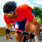 自行车骑士赛车