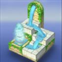 流水喷泉3d拼图