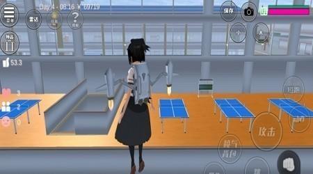 樱花校园模拟器冰雪版截图