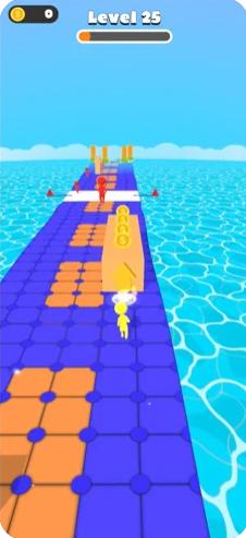 波浪比赛3D截图