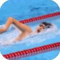 女子游泳赛