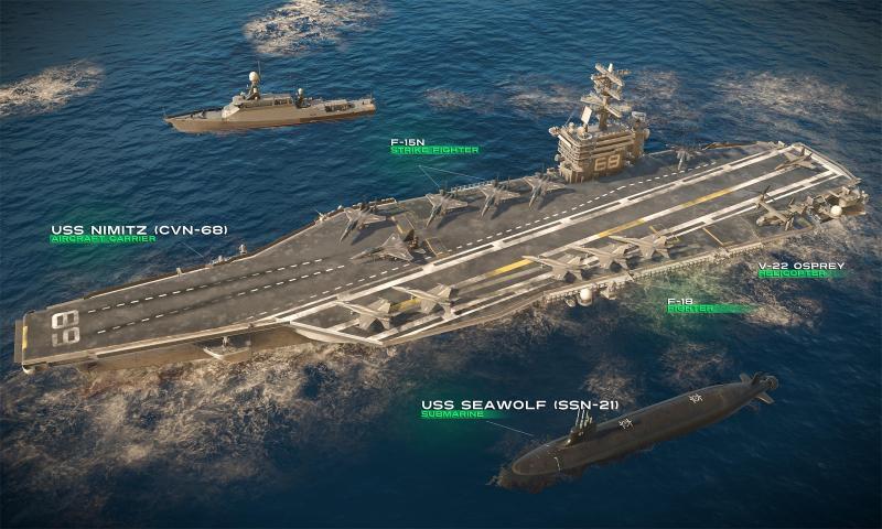 现代战舰手游截图