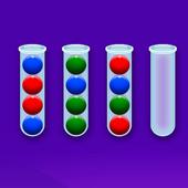 彩色气泡排序