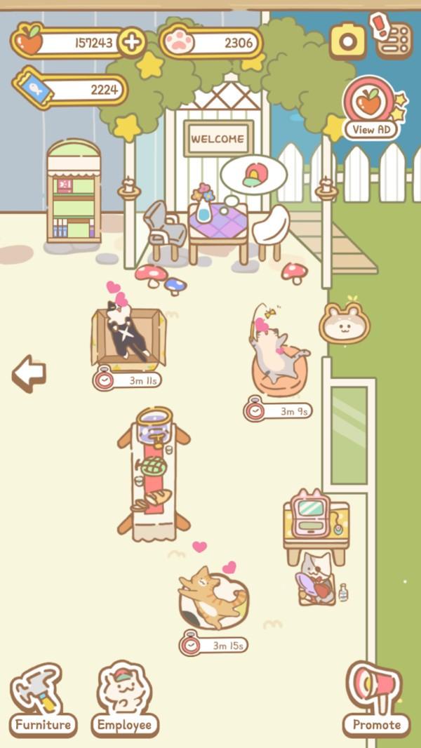 猫咪水疗中心截图