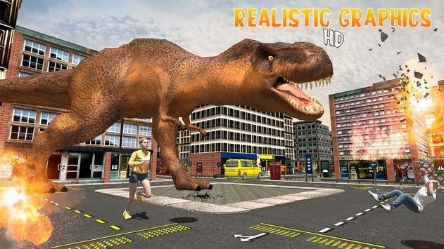 恐龙怪物入侵城市截图