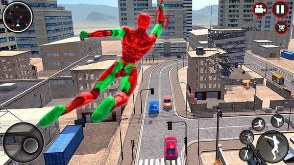 神奇忍者绳索英雄3D截图1