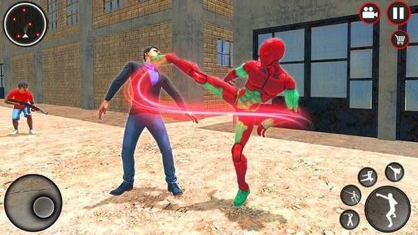神奇忍者绳索英雄3D截图3