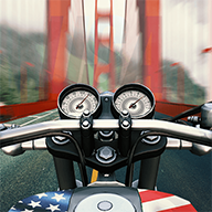 摩托骑士遨游美国小米版