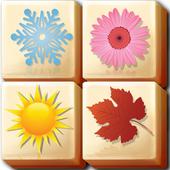 花园季节瓷砖