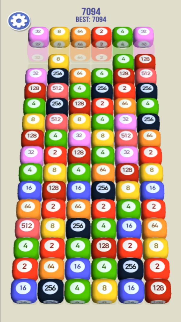 2048拼图3D