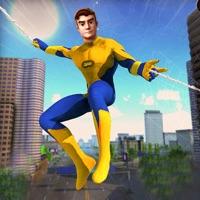 蜘蛛犯罪城市绳索英雄3D