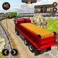 重型卡车司机山地运输