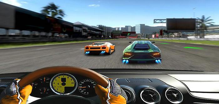 汽车游戏模拟驾驶