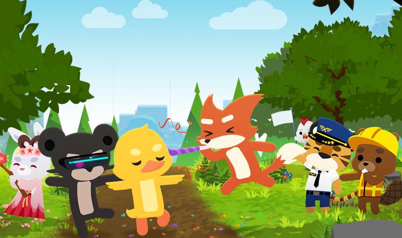 海外超好评的战术竞技游戏小动物之星终于来了!