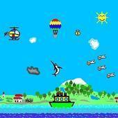 热气球漂浮