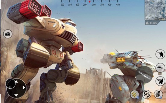 钢铁机器人小队截图