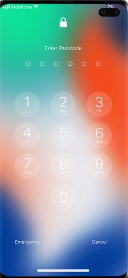 锁屏幕和通知中文版
