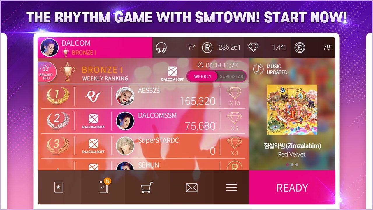 SuperStar SMTOWN韩服截图