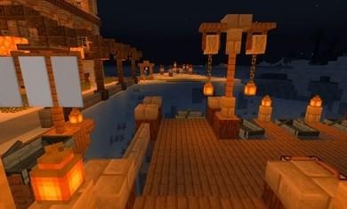 我的世界冰雪模组和白色城堡地图截图2