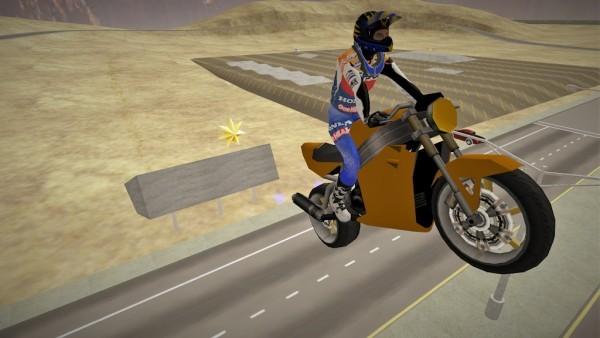 快速摩托车司机截图
