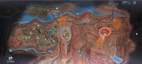 黎明觉醒50-69级材料采集地图分布攻略
