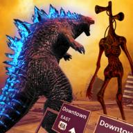 怪物摧毁城市