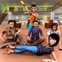 虚拟家庭逃生模拟人生