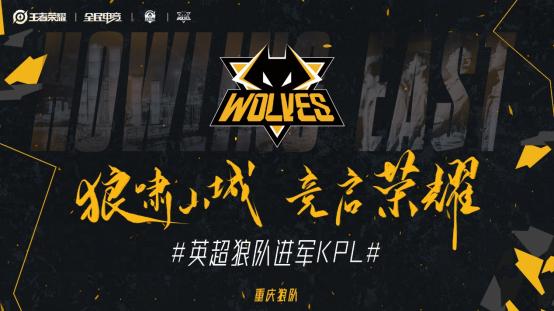 官宣!狼队电子竞技俱乐部正式加入KPL/王者荣耀职业联赛