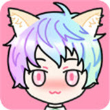 粉彩女孩2
