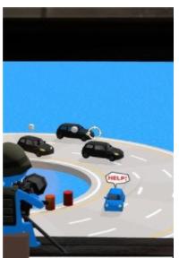 掩护小蓝车截图