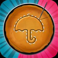 鱿鱼游戏抠糖饼比赛
